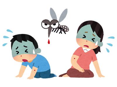 蚊による感染症